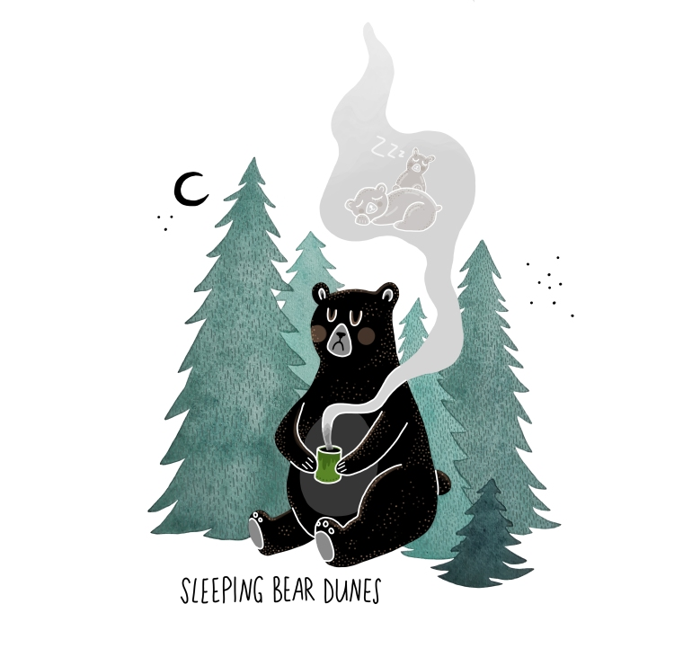 sleaping bears fin